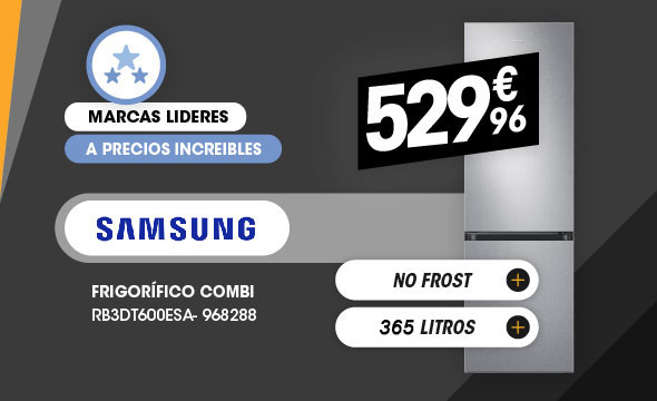 Frigorífico combi Samsung 270L no frost