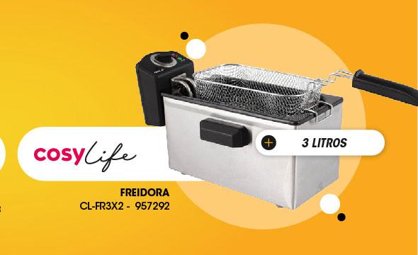 Freidora Cosylife 3 litros