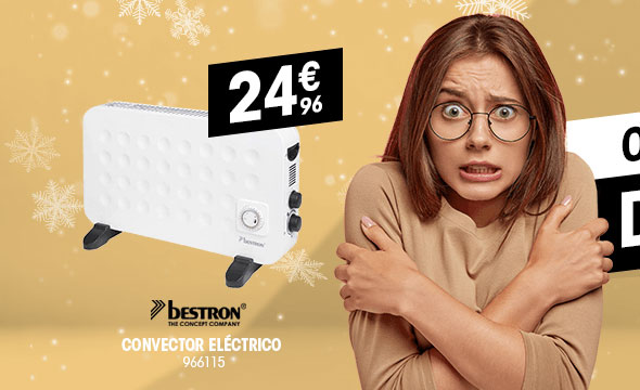 Convector eléctrico BESTRON