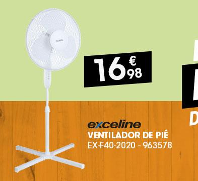 Ventilador de pié EXCELINE EX-F40-2020