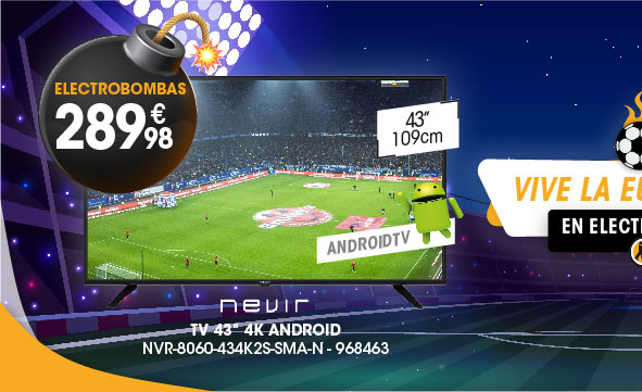 TV 43'' 4K NEVIR