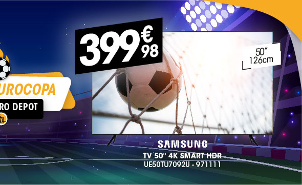 TV 50'' 4K SAMSUNG