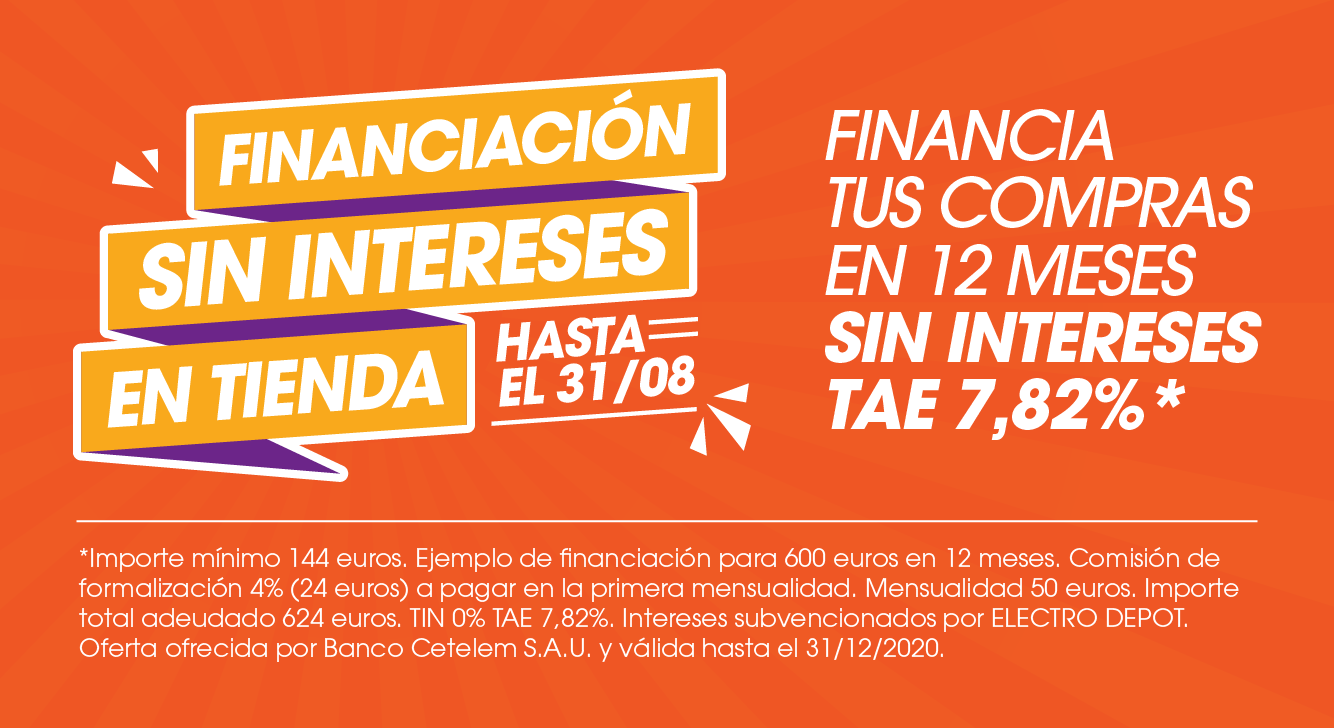 Financiación sin intereses