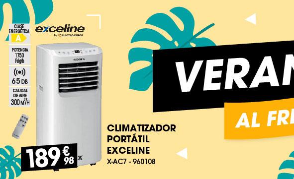 Climatizador portátil Exceline
