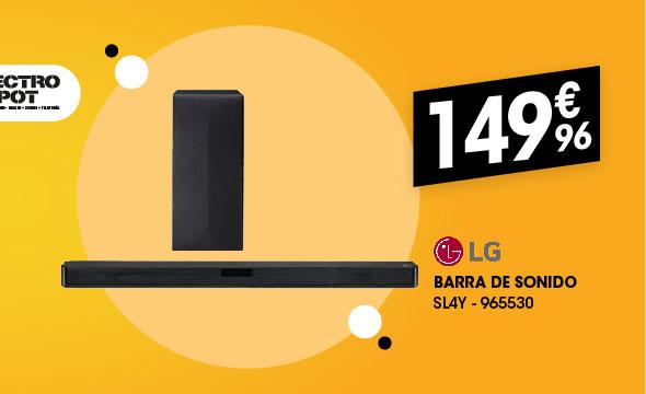 Barra de sonido LG SL4Y