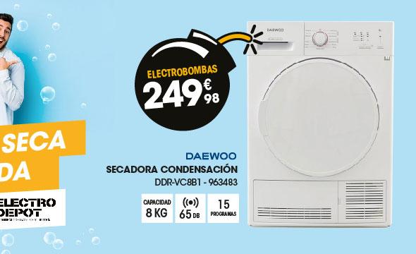 Secadora Condensación Daewoo