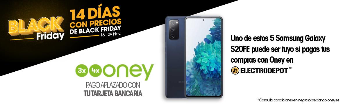 Financia tus compras y gana un Samsung Galaxy S20FE