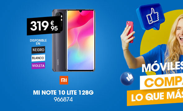 Móvil Xiaomi Mi Note 10 Lite