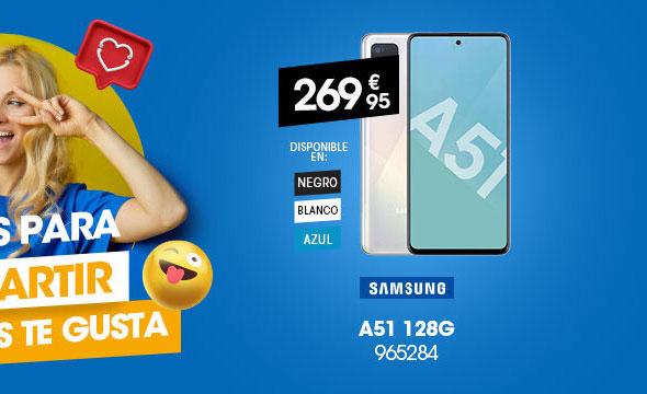 Móvil Samsung A51