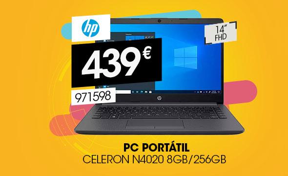 Portátil HP 240 G8 2X7L7EA Intel Celeron