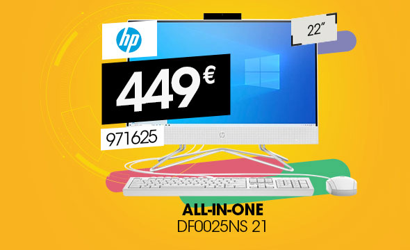 HP All-in-one 22-df0025ns Intel Celeron