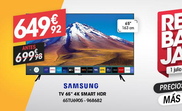 TV 65'' 4k SAMSUNG