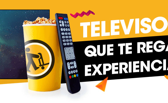 Televisores que regalan experiencias