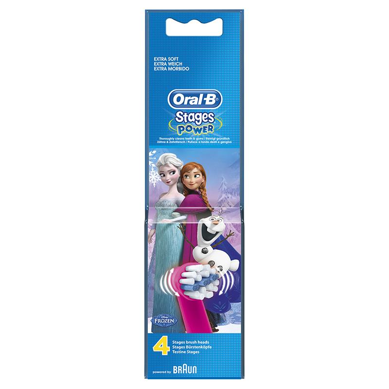 Pack 4 Recambios Cepillos Dentales Oral-b Frozen