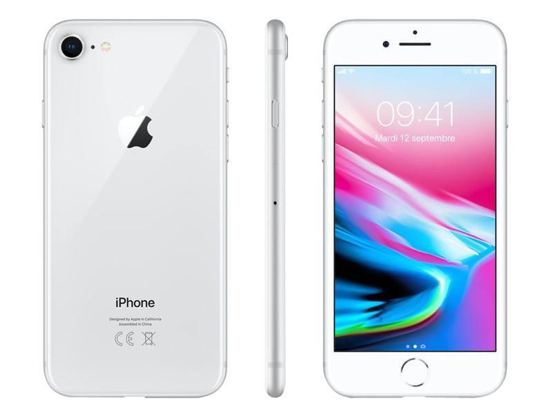 móvil reacondicionado apple ip8 64gb plata agn a+
