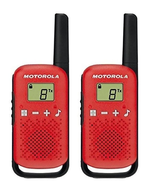 Walkie Talkies Motorola T42 Twin - Rojo