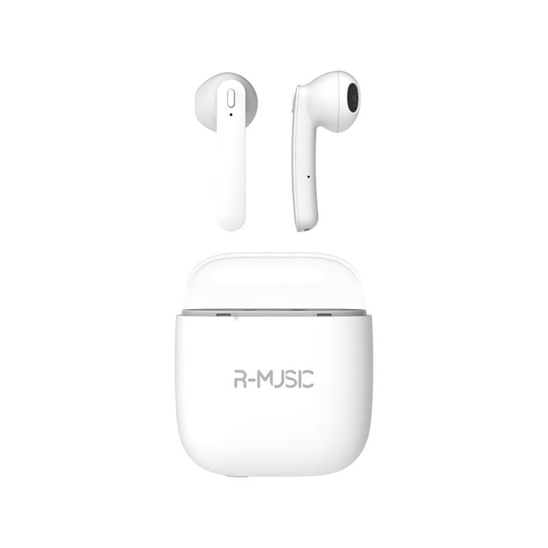 Auriculares Bluetooth R-music Rm483683 Blanco