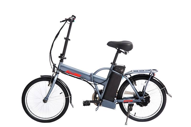 Bicicleta Eléctrica Plegable Revoe Easy Ion 20 Gris
