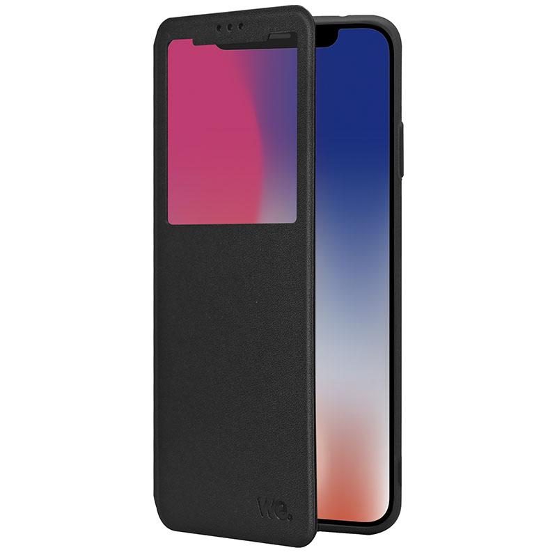 Carcasa Protección Tipo Folio We Samsung A20 Negro