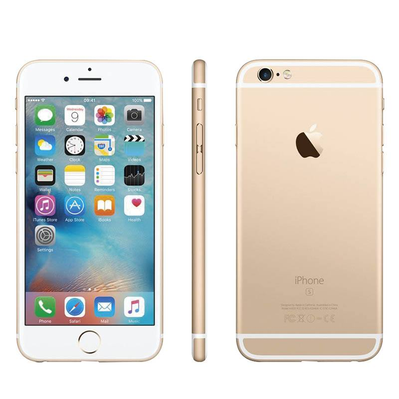 móvil reacondicionado apple iphone 6s 16gb oro agn eco + carcasa