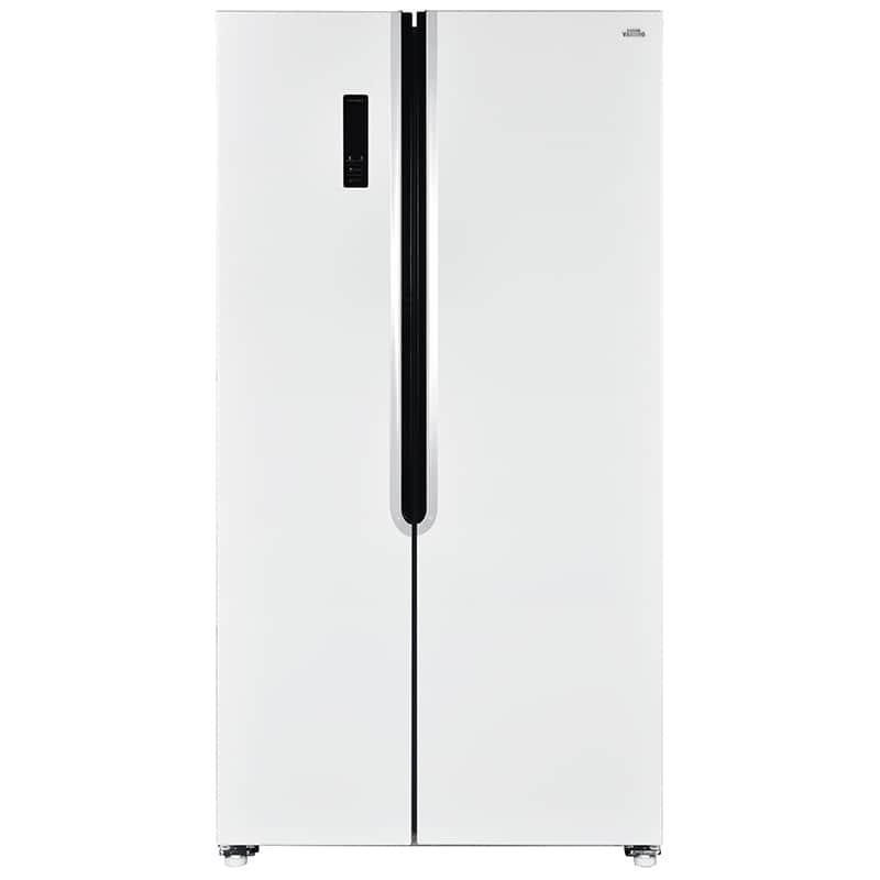 Frigorífico Americano Con Congelador Valberg Sbs 442 F W742c Blanco