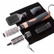 Kit Cepillo moldeador de pelo Be You AB01 5 en 1 con funda
