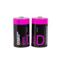 Pack pilas ELECTRO DEPOT Alkaline LR20 - D x 2 uds
